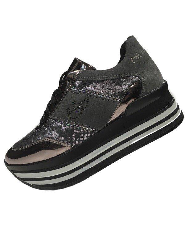 Sneakers Byblos Donna 687010 Maxi Grigio Scarpe TkiOPZXu